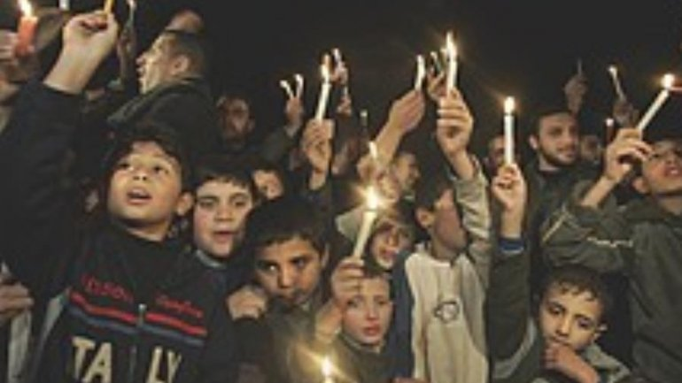 Palestinians protest in Gaza over electricity cuts
