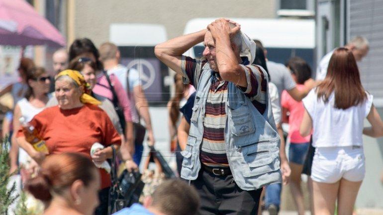 Heatwave to overwhelm Moldova