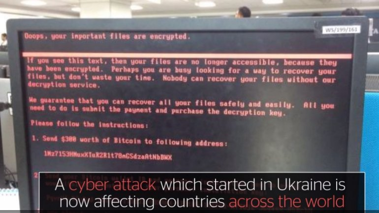 Multiple companies hit worldwide by MONSTER cyber attack apparently originating from Russia and Ukraine