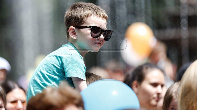Children's Day celebration: 2.8 race organised in Criuleni district
