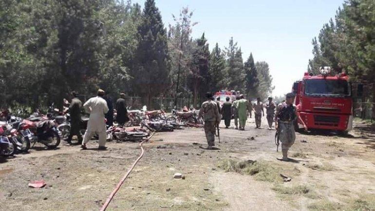 Deadly car bomb targets Afghan bank