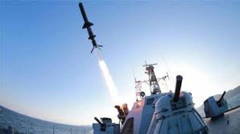 North Korea fires anti-ship missiles, says South Korea