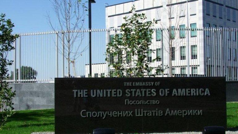 Blast at US embassy to Kyiv