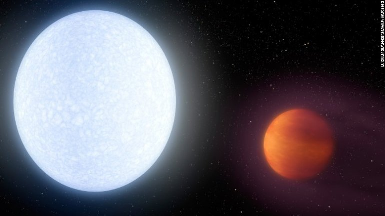 New exoplanet exposes peculiar features, never met until now
