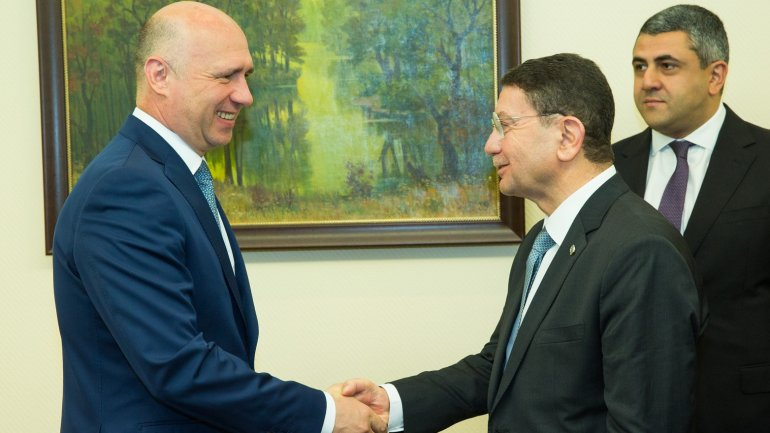Pavel Filip and Taleb Riffai discuss UNLOCKING the potential of the tourism industry in Moldova