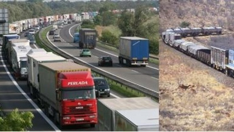 Amount of transported merchandise jumps in Moldova y/y