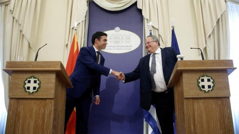 Greece and Macedonia attempt to find way out in name problem
