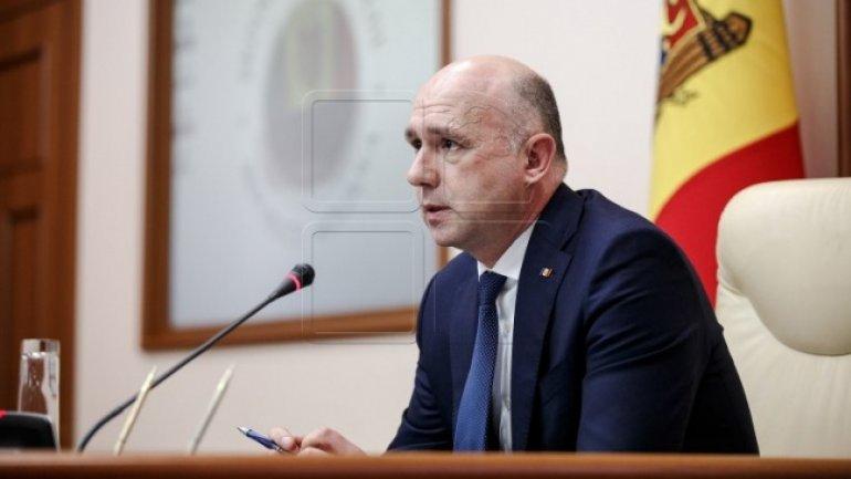 Moldovan Prime Minister starts working visit to Brussels