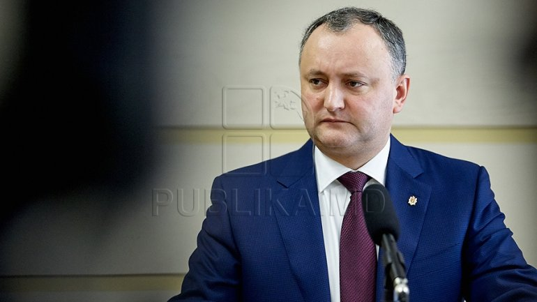 President Dodon cries foul at expulsion of Russian diplomats