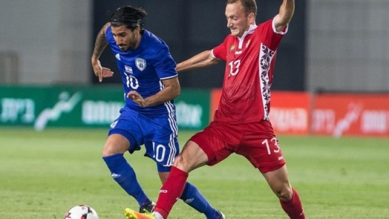 Moldova and Israel play at a draw in friendly football match