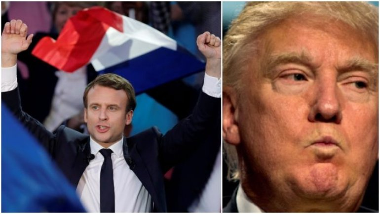 Macron to Trump: Make our Planet great again