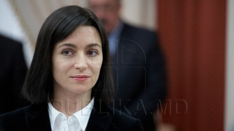 Maia Sandu wants to convince Brussels not to support reform of voting system in Moldova