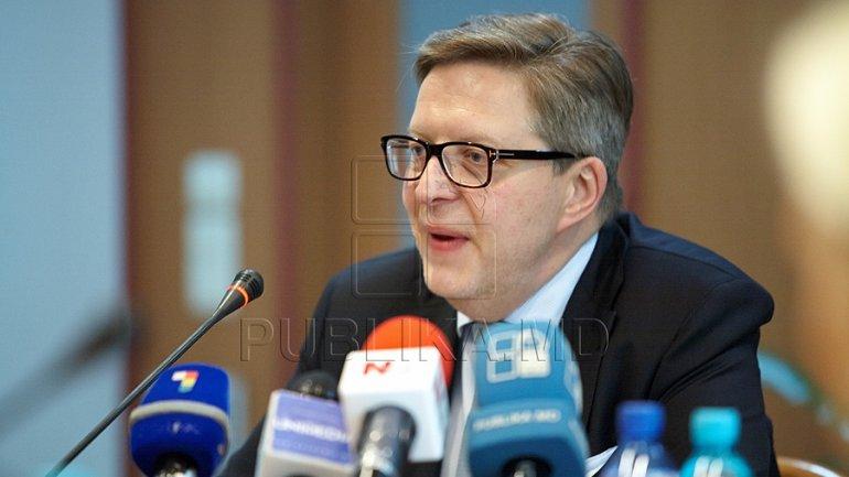 EU Ambassador in Chisinau, Prikka Tapiola PRAISES governmental reforms