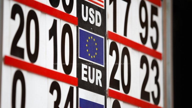 EXCHANGE RATE for June 5, 2017. Moldovan leu slightly down as to euro