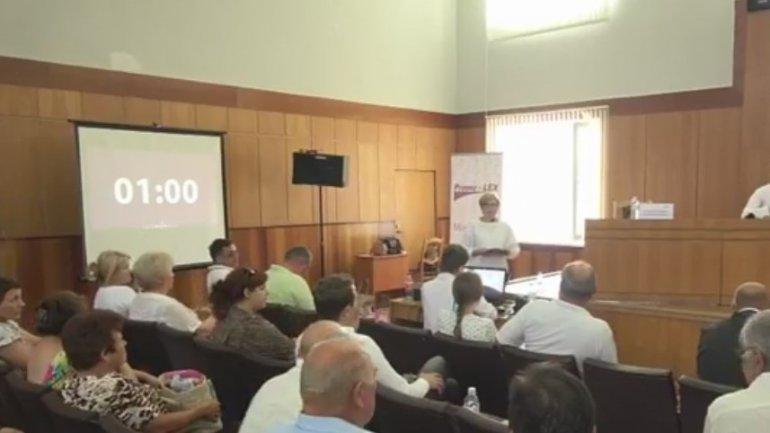 New round of debates on electoral reform organized in Anenii Noi town