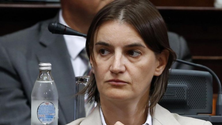 Serbia President names Ana Brnabic its first openly gay and first female Prime Minister