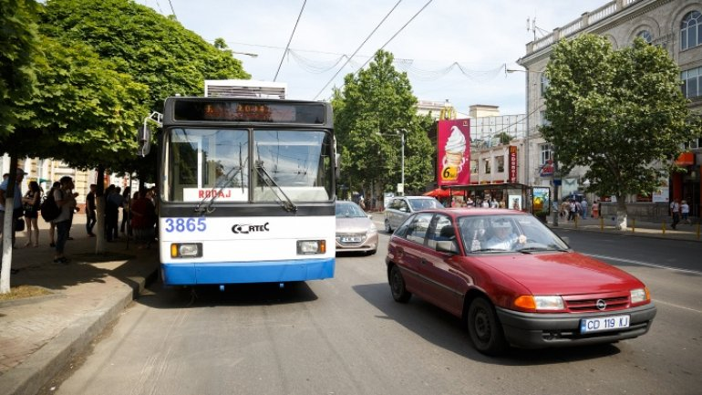 First wireless trolleybuses to be launched in Chisinau
