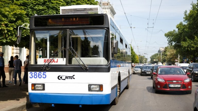 First wireless trolleys to start running in Chisinau