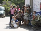 "Mobile paediatric cabinet ""Renaşte Moldova"" reached Capriana. Dozens of children examined by doctors"