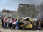 Syrian capital, rocked by multiple car bombs