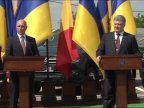 """New Moldovan-Ukrainian border crossing point. Filip: """"for citizens and economic agents on Dniester left bank"""""""