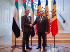 UAE Foreign Minister and Moldovan Deputy Prime Minister discuss bolstering relations