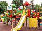 Gift for small patients: Edelweiss Foundation renovated playground of Nisporeni Rayon hospital