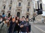 Milan bans selfie stick