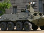 Russian militaries from Transnistria are preparing the armored to force Dniester River