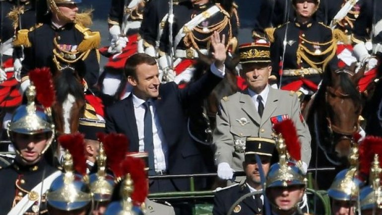 Bastille Day military parade in Paris, France, in pictures