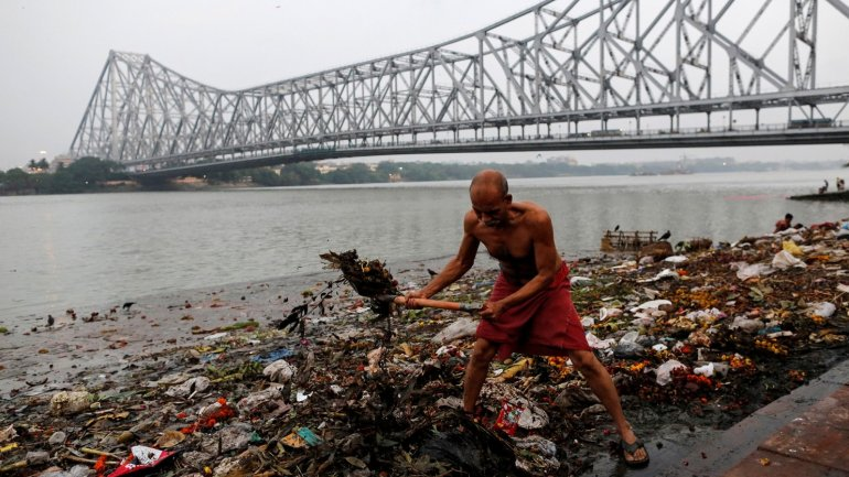 India's Ganges River - the most polluted, the most revered in the world