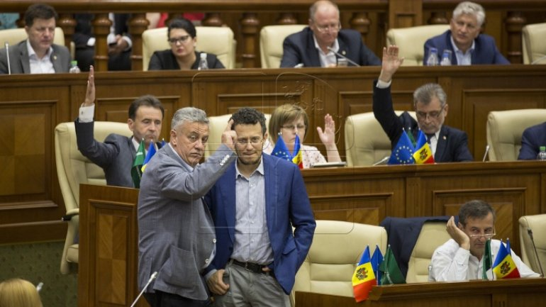 Parliament's atmosphere of vote on electoral system change (Photos)