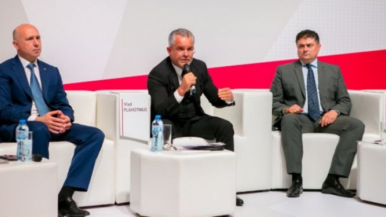 Vlad Plahotniuc, at AOAM's Forum: We want real, concrete partnership between business sector and government