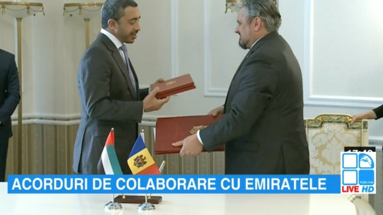 UAE & Moldova sign two bilateral cooperation agreements