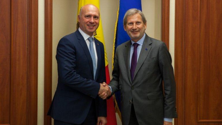 Johannes Hahn: EU pledge support Moldova on European pathway