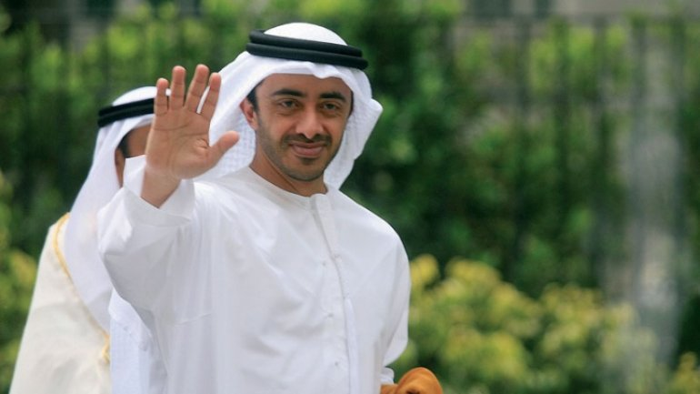 UAE Foreign Minister to pay working visit to Moldova