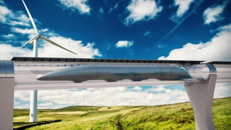 High-speed Hyperloop project ready for key test in Nevada