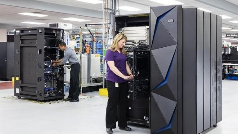 IBM unveils new mainframe capable of running more than 12 billion encrypted transactions a day