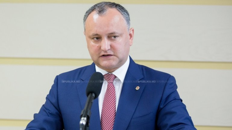 Igor Dodon to participate event on left-bank Nistru: to decorate Moldovan soldiers and Russian peacekeepers