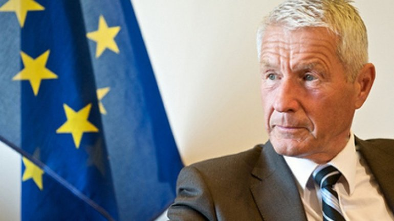 Secretary general of Council of Europe Thorbjorn Jagland welcomed switch to mixed electoral system