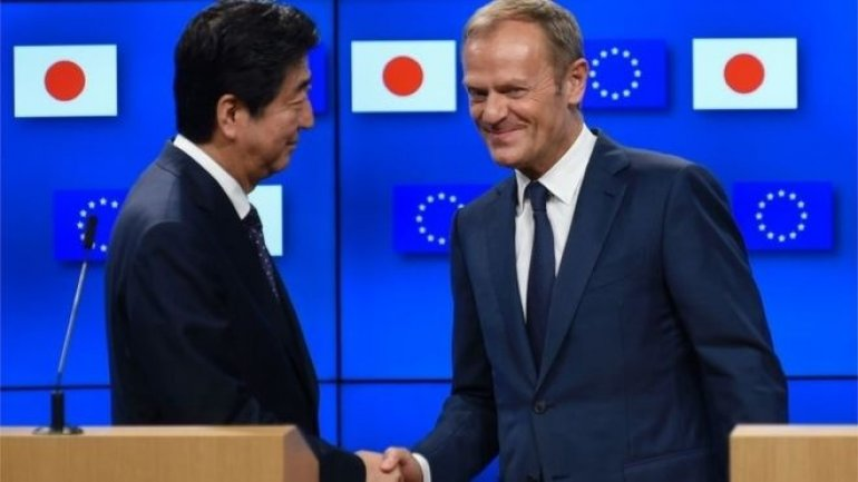 EU and Japan reach free trade deal