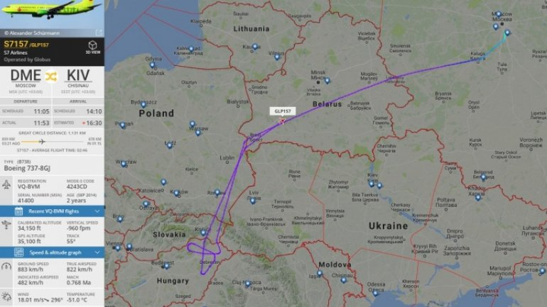 Romania confirmed: Russia's diplomat not allowed to fly over airspace