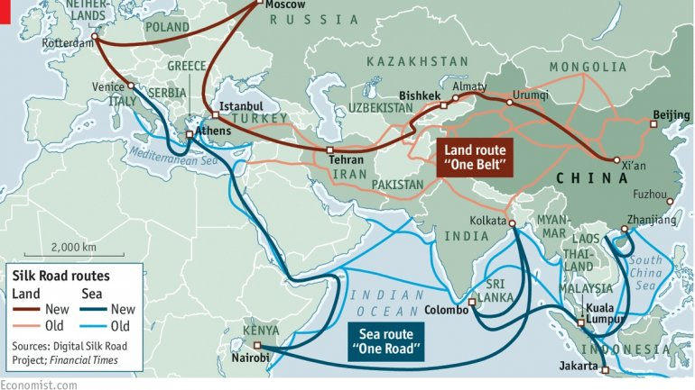 China's restored corridors to Europe bypass Russia
