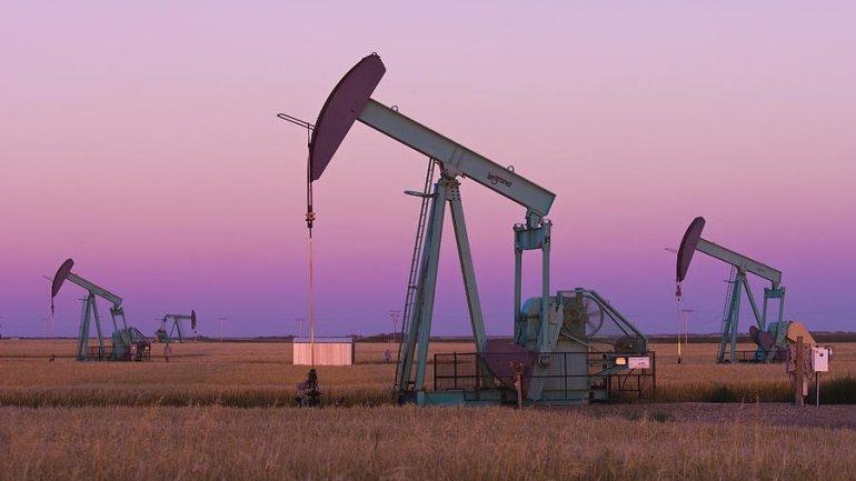 Oil jumps as U.S. drills less