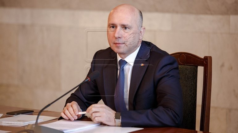 Pavel Filip: Government, through law, will make sure Moldova's army is well trained