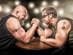 Arm wrestling championship attracts competitors from all over Europe