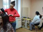 Beauty salon visits female detainees in prison no.16