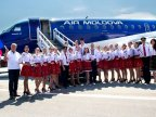Air Moldova dresses in traditional clothes for Independence Day