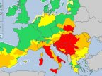Extreme heat warnings issued in Europe as temperatures pass 40C
