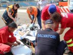 Minor suffering road accident, urgently hospitalized by SMURD aircraft in Chisinau
